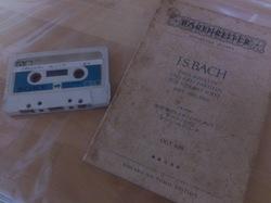Bach & Original tape