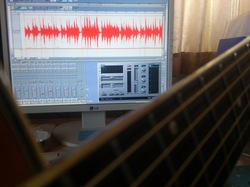 Ac. guitar & Edit window